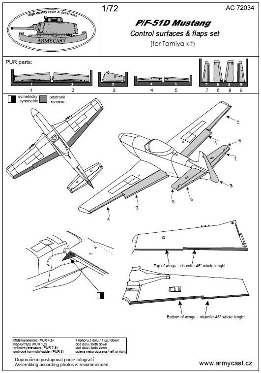 P/F-51 D - résine ARMYCAST AC 72034 394-th10