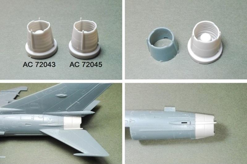 Mig-21 - Sets résine ARMYCAST 1/72 410-th11