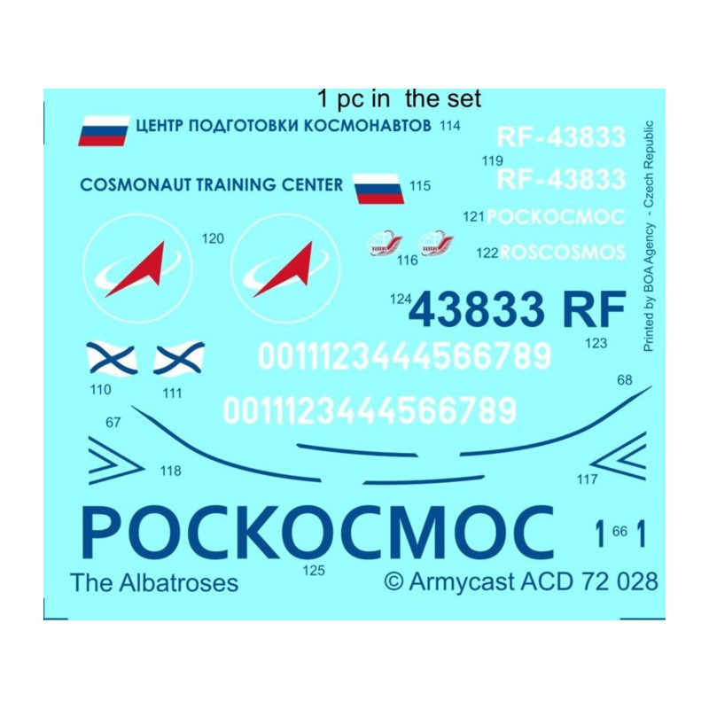 L-39C Albatros in the world - Decals ARMYCAST ACD 72028 / 48011 424-th10