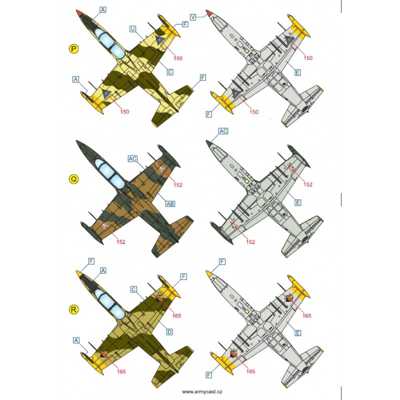 L-39ZA/ZO Albatros in the world - Decals ARMYCAST ACD 72030 / 48012 468-th10