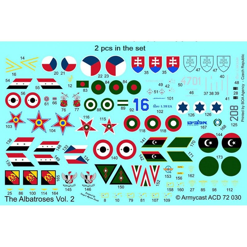 L-39ZA/ZO Albatros in the world - Decals ARMYCAST ACD 72030 / 48012 469-th10