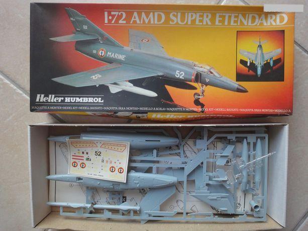 [HELLER] Super Etendard Modernisé 1/72 avec kit ARMYCAST 6383d110