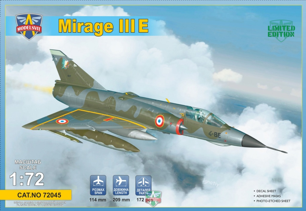 """[MODELSVIT] Mirage III E 1/72 """"1/13 Artois"""" 955e2812"""