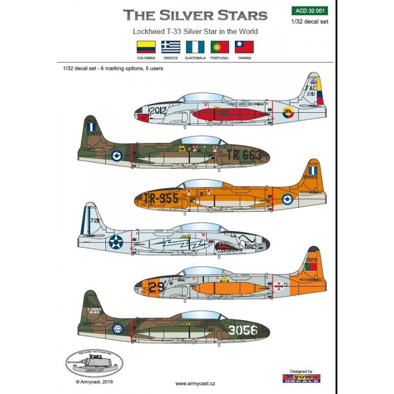 The Silver Stars - T-33 in the World Acd-3215