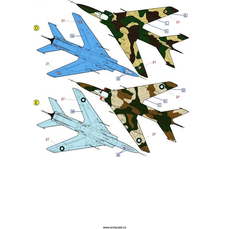 Décals A-5C / Q-5C Fantan - ARMYCAST ACD 72029 Acd-7219
