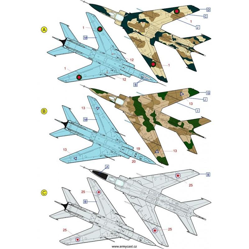 Décals A-5C / Q-5C Fantan - ARMYCAST ACD 72029 Acd-7221