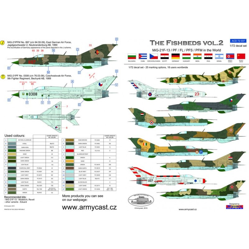 The Fishbeds Mig-21 in the world Acd-7267