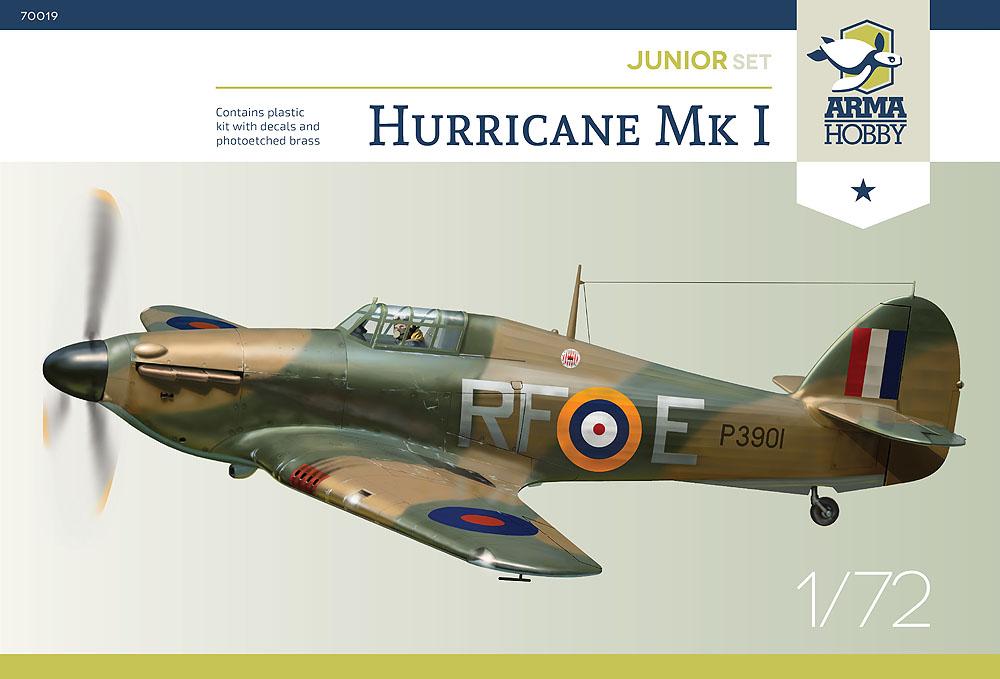 arma -  [ARMA HOBBY] Hurricane Mk.I   (revue de kit) Ah-70011