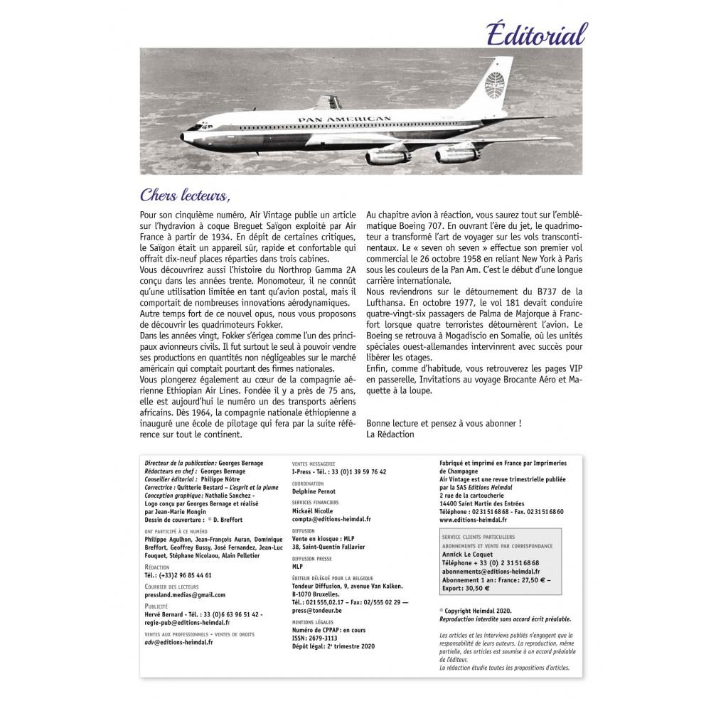Air Vintage n°5 - éditions Heimdal Air-vi21