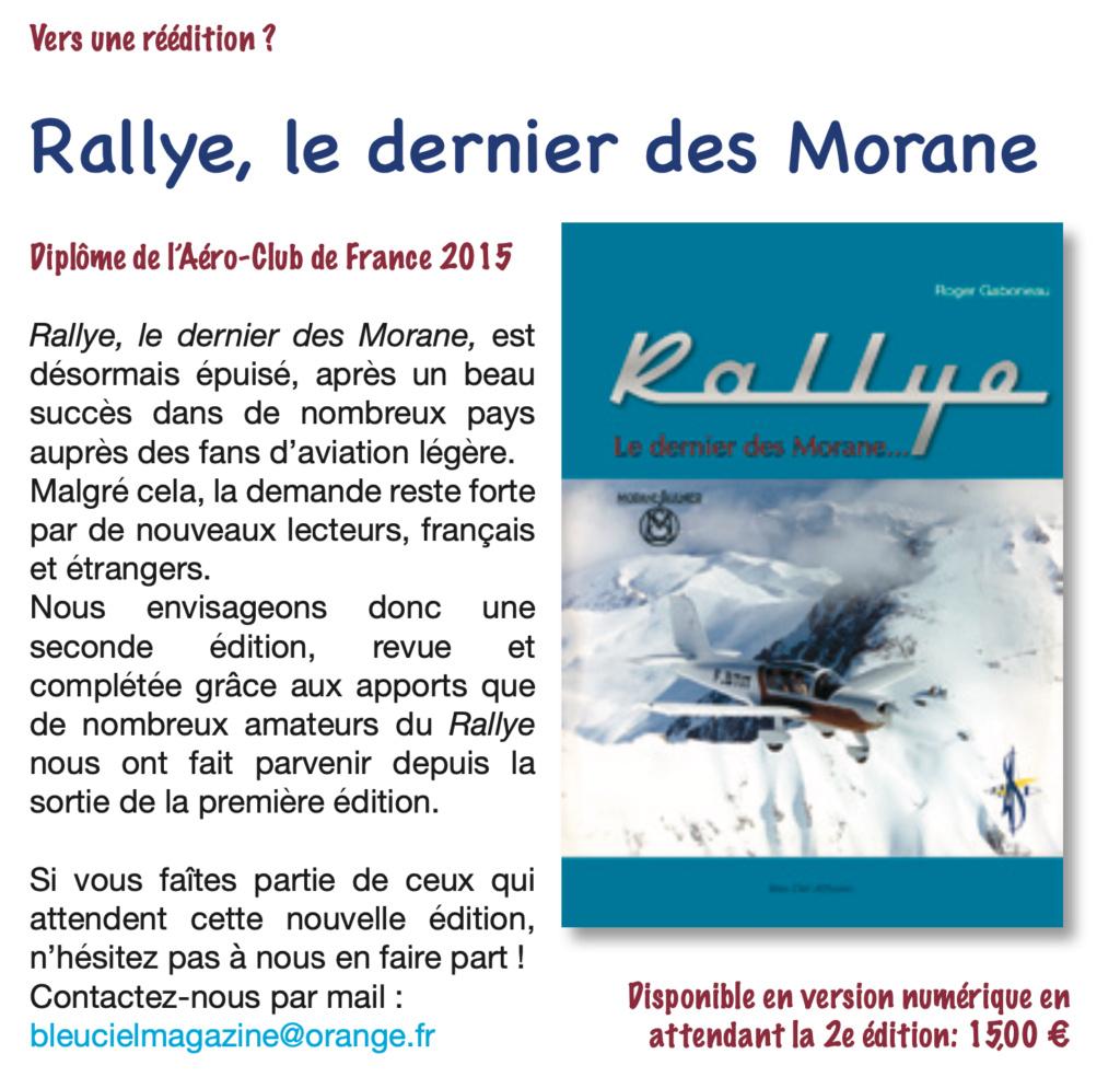 RALLYE, le dernier des Morane.....de Roger Gaborieau Captur45