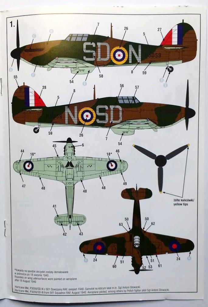 arma -  [ARMA HOBBY] Hurricane Mk.I   (revue de kit) Img_2104