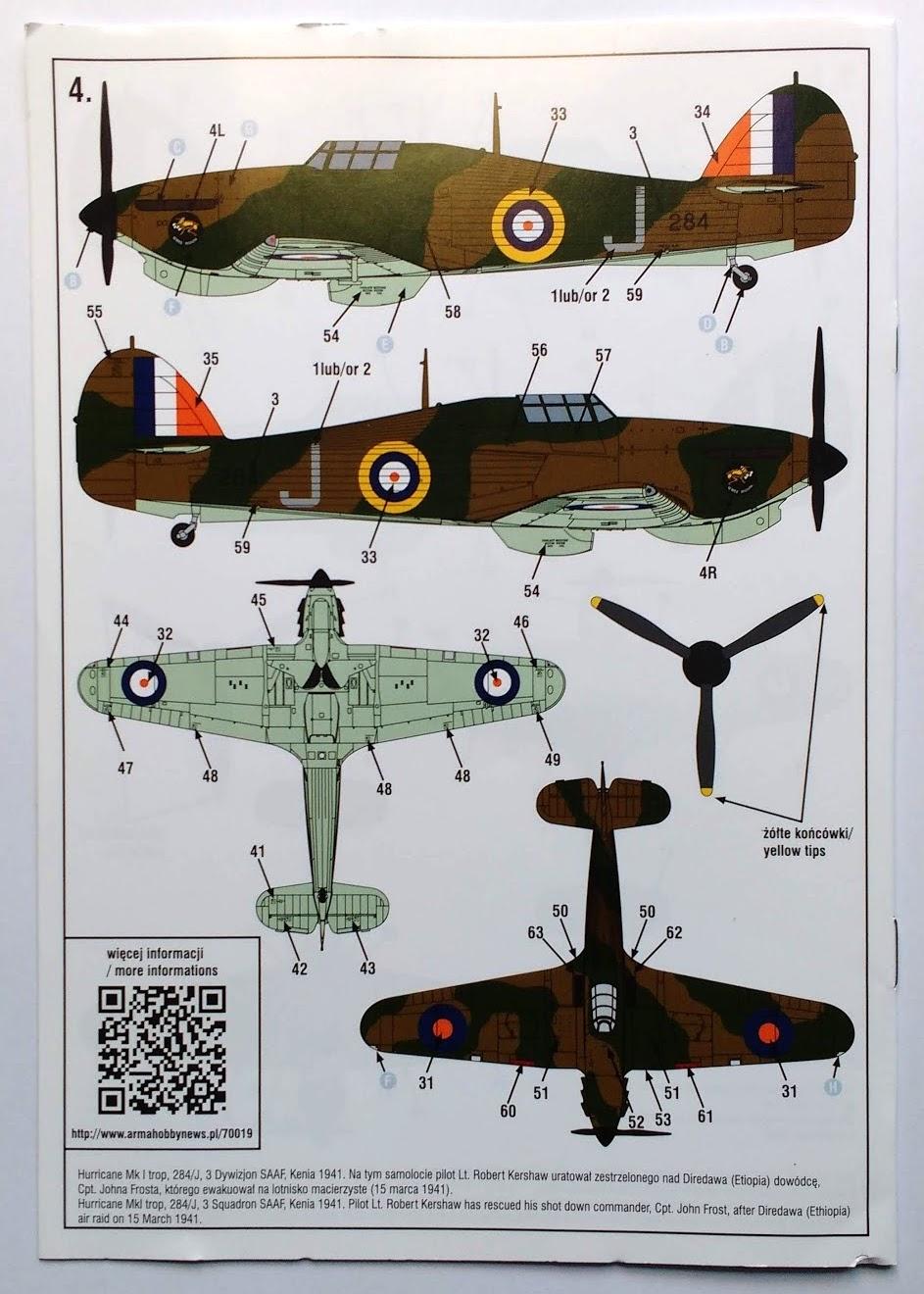arma -  [ARMA HOBBY] Hurricane Mk.I   (revue de kit) Img_2106