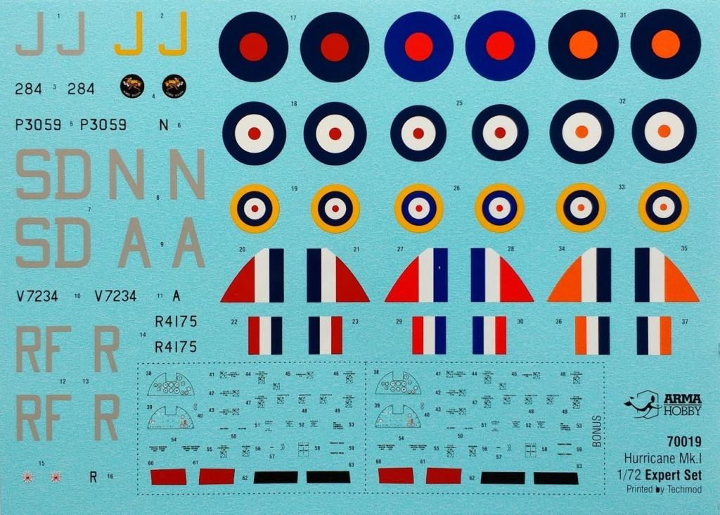 arma -  [ARMA HOBBY] Hurricane Mk.I   (revue de kit) Img_2109
