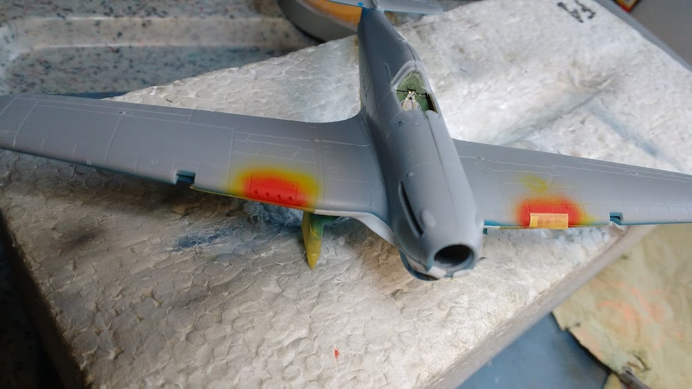 "Hurricane Mk I metal wing ""ALSACE"" [ARMA HOBBY 1/72]  - Page 2 Img_2174"