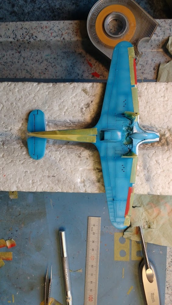 "Hurricane Mk I metal wing ""ALSACE"" [ARMA HOBBY 1/72]  - Page 2 Img_2175"
