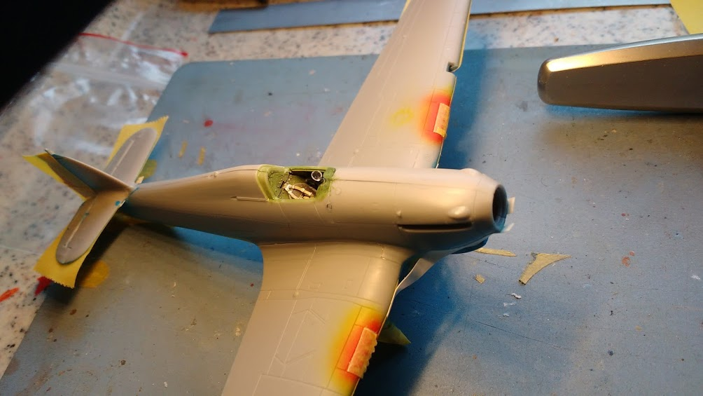 "Hurricane Mk I metal wing ""ALSACE"" [ARMA HOBBY 1/72]  - Page 2 Img_2178"