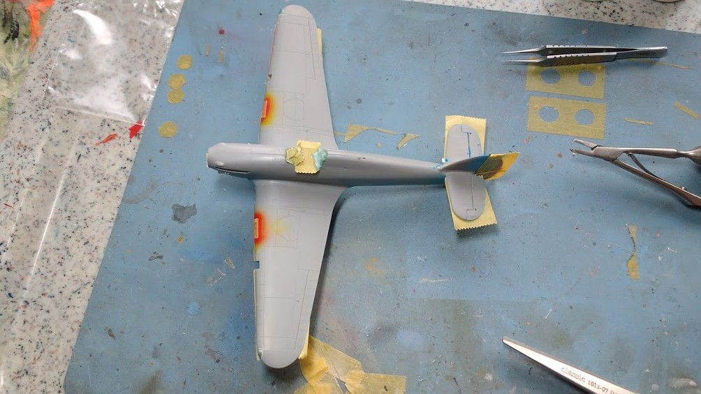 "Hurricane Mk I metal wing ""ALSACE"" [ARMA HOBBY 1/72]  - Page 2 Img_2179"