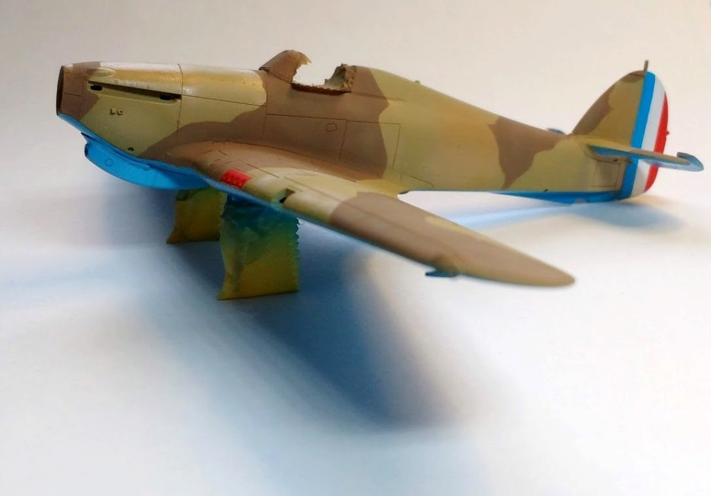 "Hurricane Mk I metal wing ""ALSACE"" [ARMA HOBBY 1/72]  - Page 2 Img_2192"