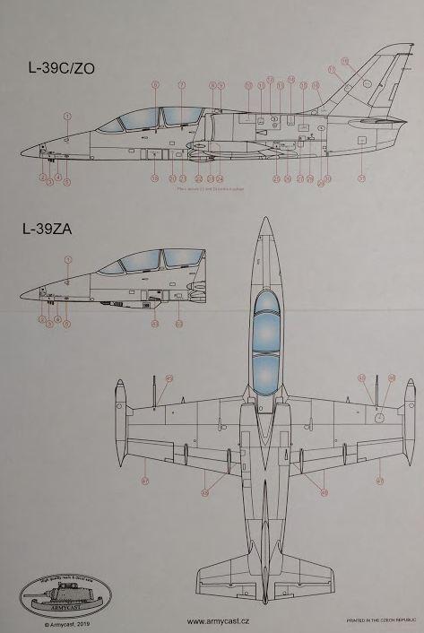L-39C/ZO/ZA Albatros stencils - Décal ARMYCAST ACD 72030 + 48025 Img_2219