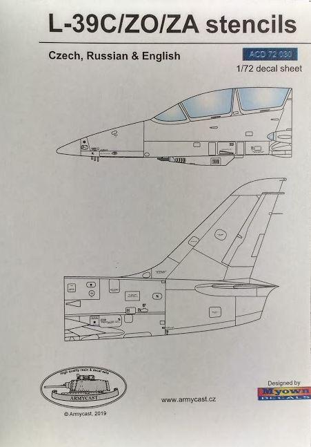 L-39C/ZO/ZA Albatros stencils - Décal ARMYCAST ACD 72030 + 48025 Img_2220