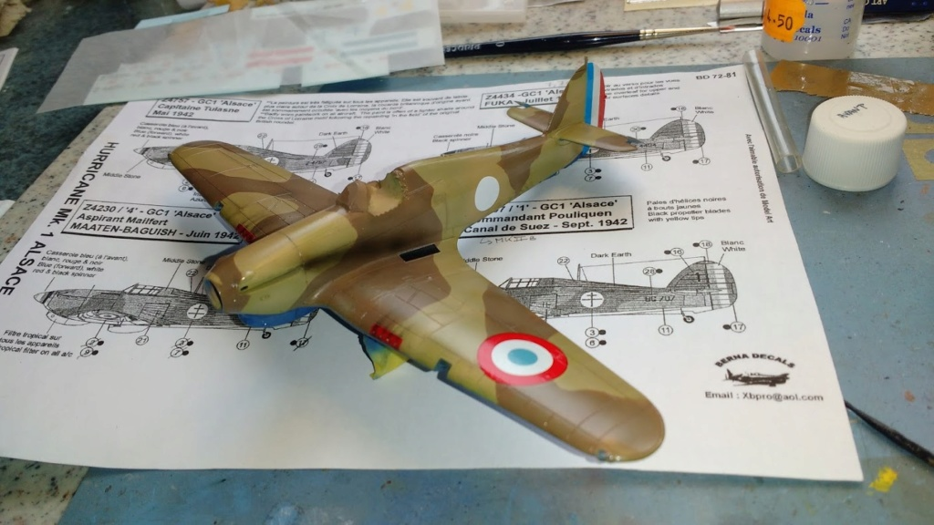 """Hurricane Mk I metal wing """"ALSACE"""" [ARMA HOBBY 1/72]  - Page 3 Img_2229"""