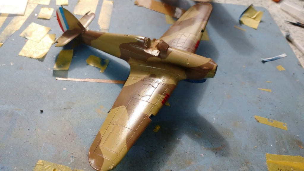 """Hurricane Mk I metal wing """"ALSACE"""" [ARMA HOBBY 1/72]  - Page 3 Img_2230"""