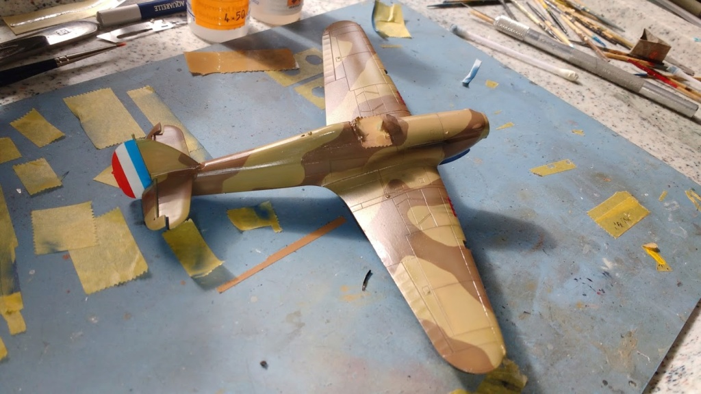 """Hurricane Mk I metal wing """"ALSACE"""" [ARMA HOBBY 1/72]  - Page 3 Img_2231"""