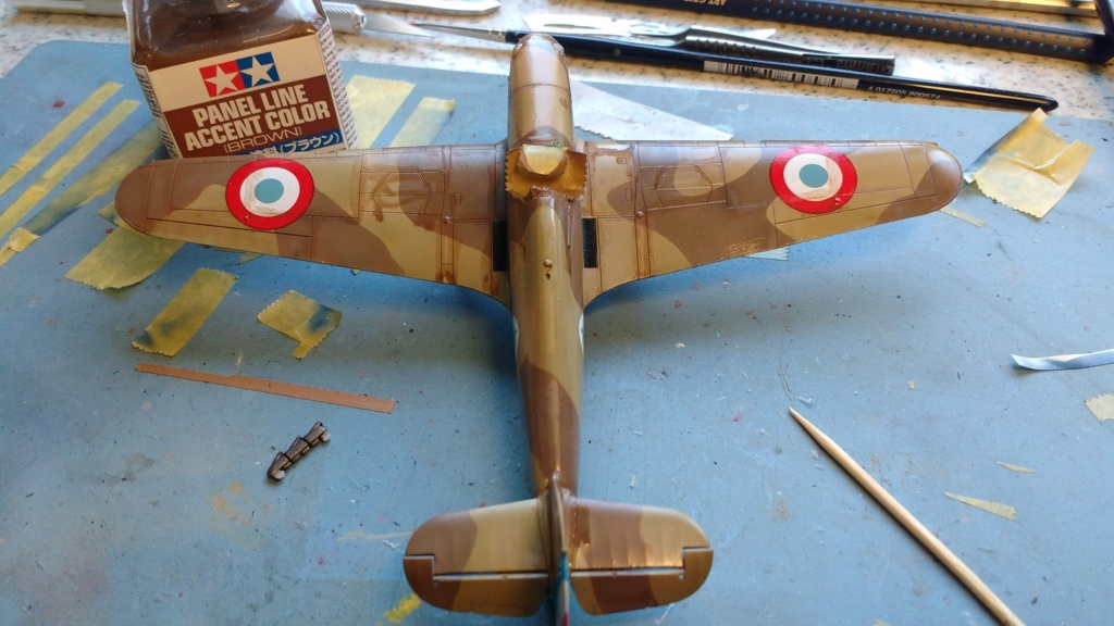 """Hurricane Mk I metal wing """"ALSACE"""" [ARMA HOBBY 1/72]  - Page 3 Img_2232"""