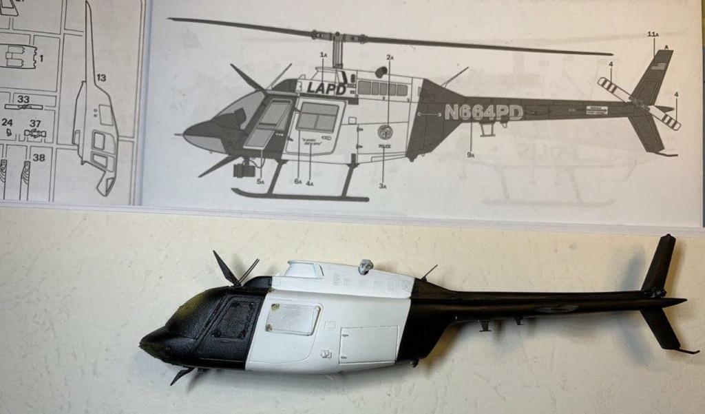 Bell 206 Jet Ranger - Los Angeles Police - Italeri 1/72 - Page 2 Photo194