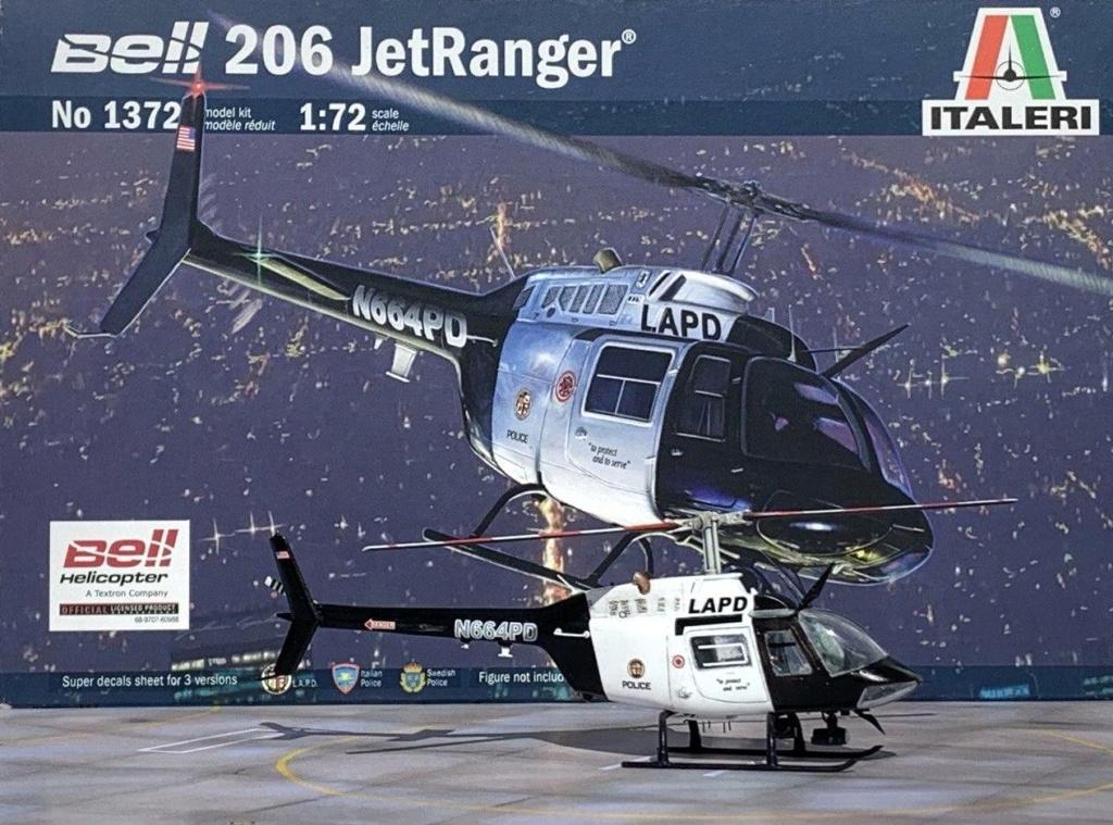 Bell 206 Jet Ranger - Los Angeles Police - Italeri 1/72 Photo204