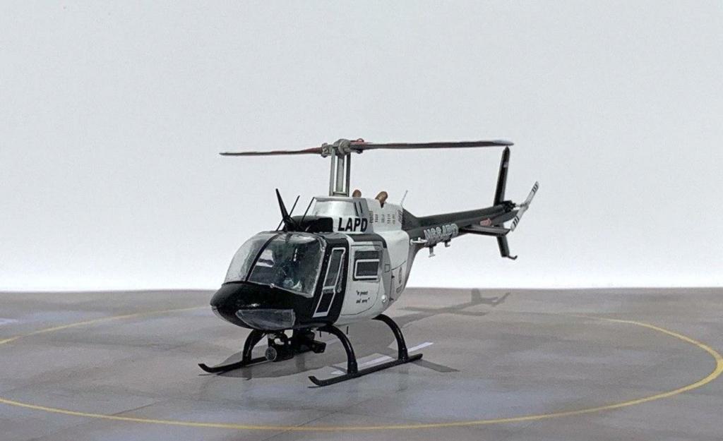 Bell 206 Jet Ranger - Los Angeles Police - Italeri 1/72 Photo205