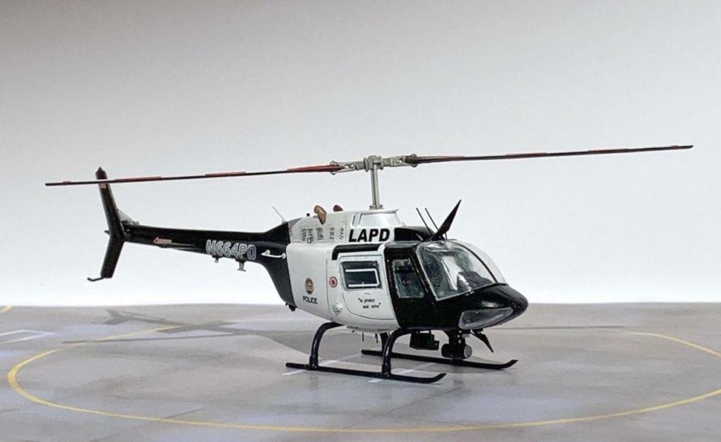 Bell 206 Jet Ranger - Los Angeles Police - Italeri 1/72 Photo206