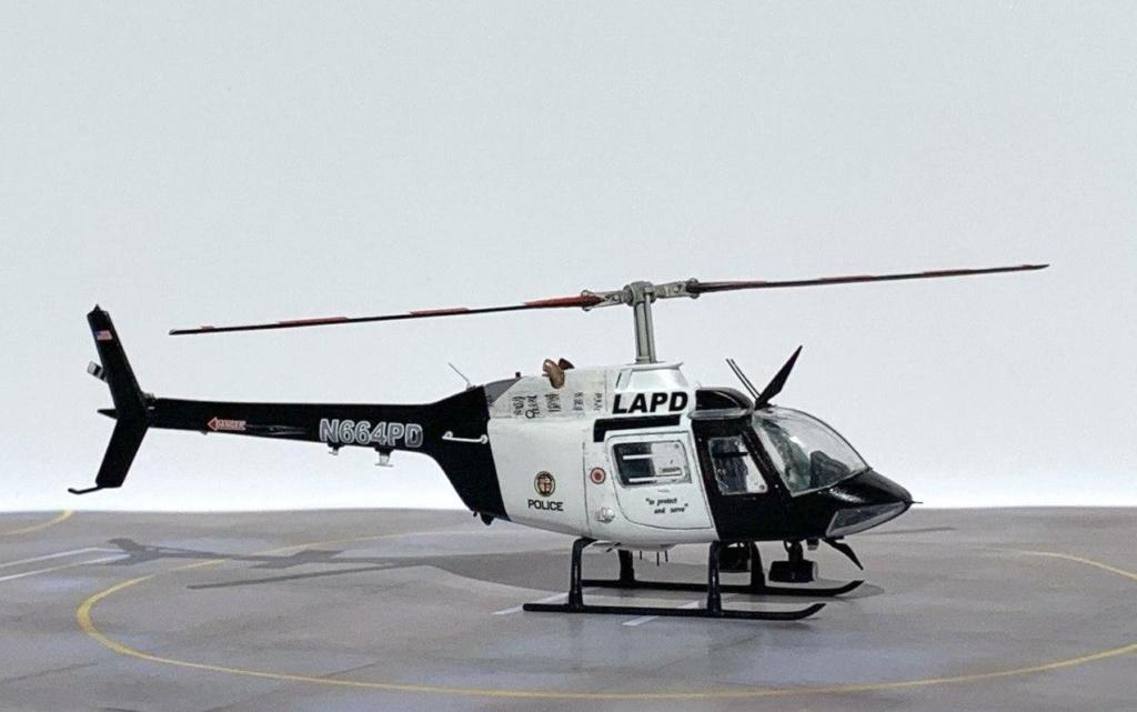 Bell 206 Jet Ranger - Los Angeles Police - Italeri 1/72 Photo207