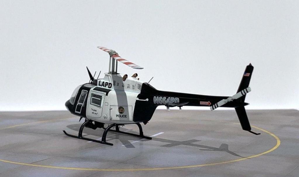 Bell 206 Jet Ranger - Los Angeles Police - Italeri 1/72 Photo208