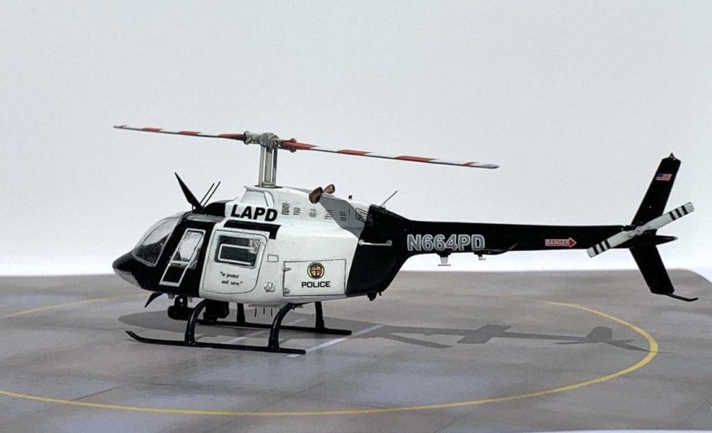 Bell 206 Jet Ranger - Los Angeles Police - Italeri 1/72 Photo209
