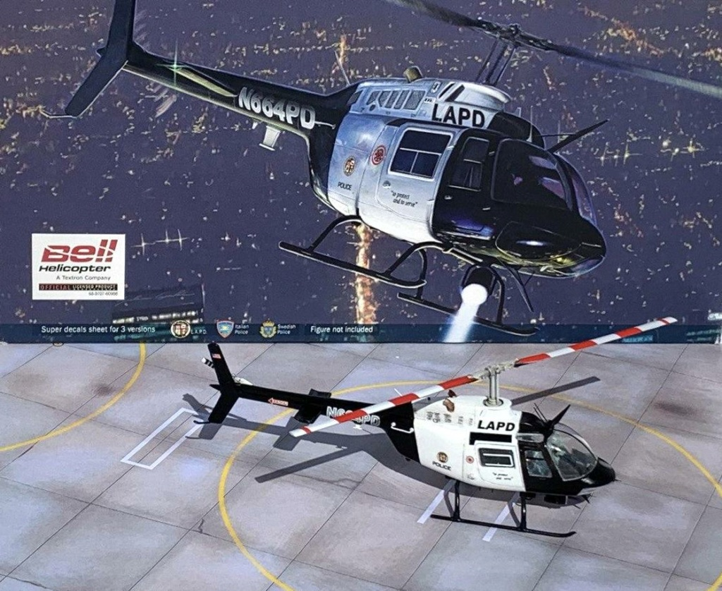 Bell 206 Jet Ranger - Los Angeles Police - Italeri 1/72 Photo210