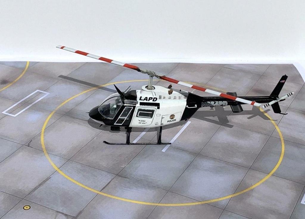 Bell 206 Jet Ranger - Los Angeles Police - Italeri 1/72 Photo211