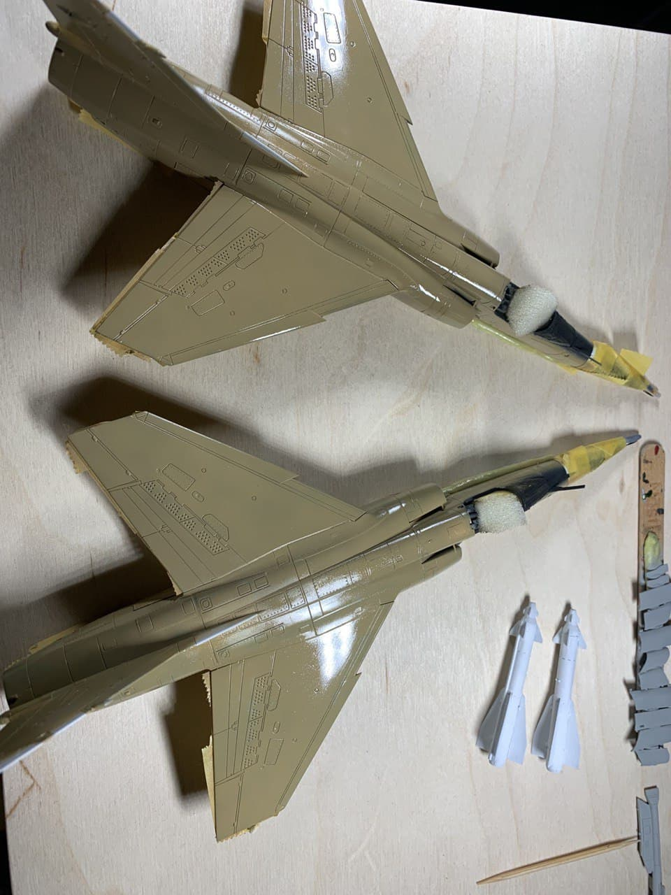 Mirage F1EQ5 avec Kh29L - Irak - Special Hobby + Reskit + Yahu 1/72 - Page 2 Photo258