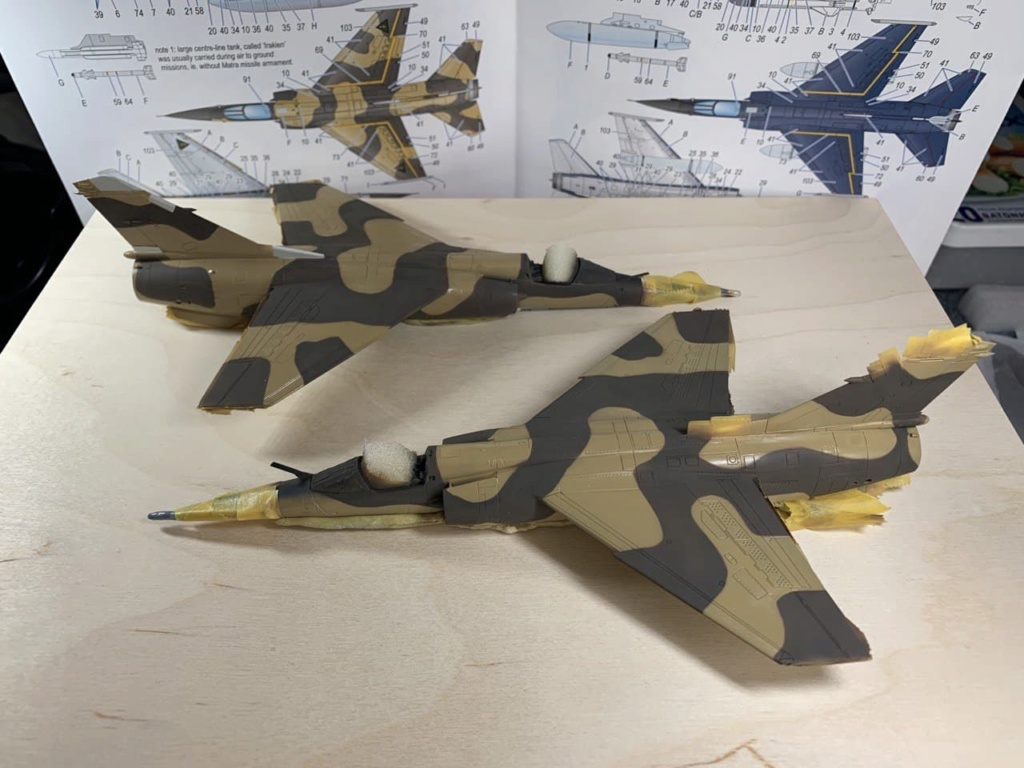 Mirage F1EQ5 avec Kh29L - Irak - Special Hobby + Reskit + Yahu 1/72 - Page 2 Photo262