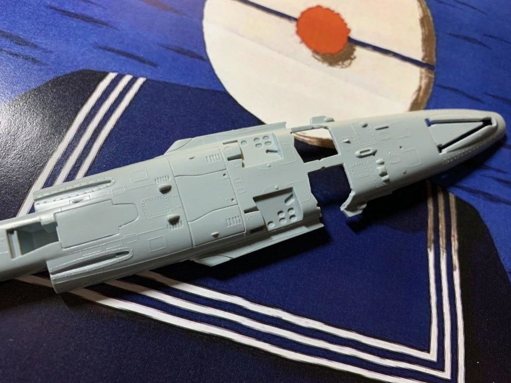 [HELLER] Super Etendard Modernisé 1/72 avec kit ARMYCAST Photo_23