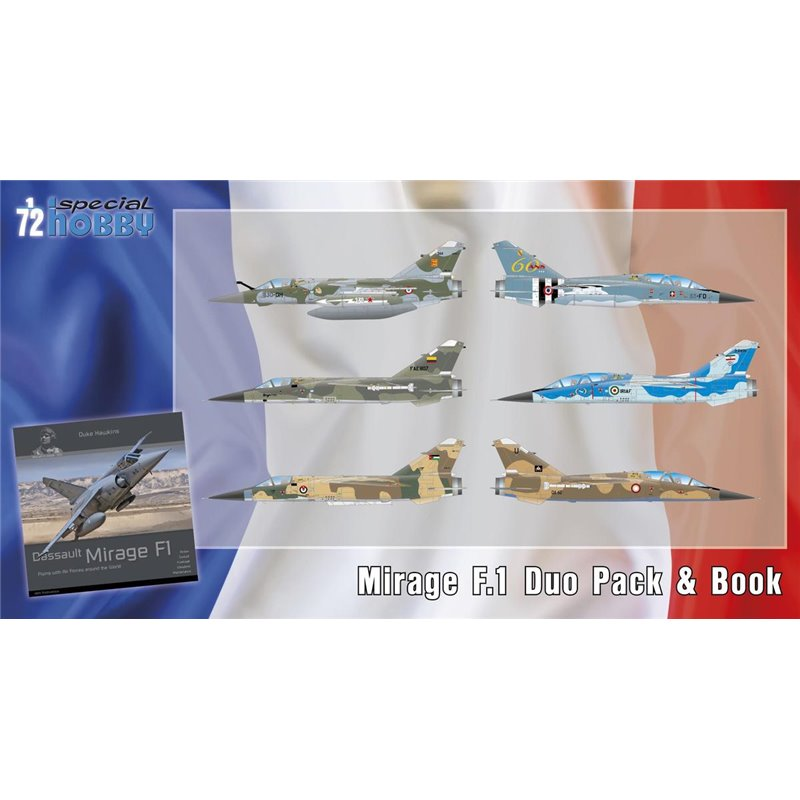 Boite combo Mirage F1 Special Hobby 72414 Sh724110