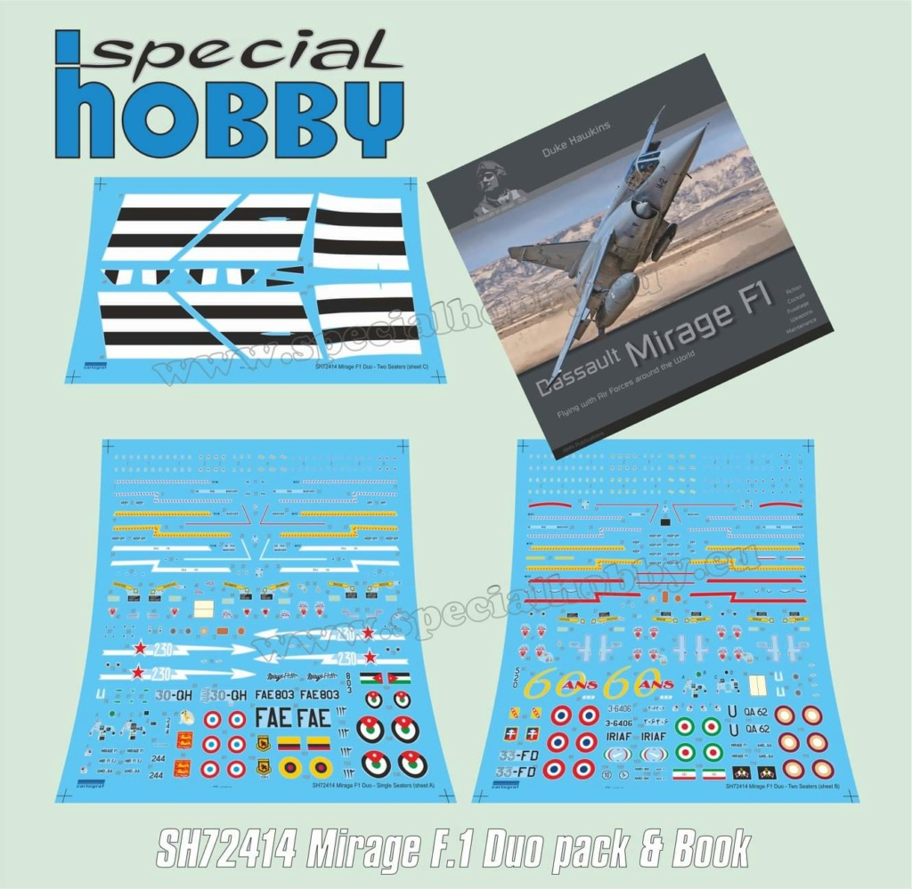 Boite combo Mirage F1 Special Hobby 72414 Sh724111
