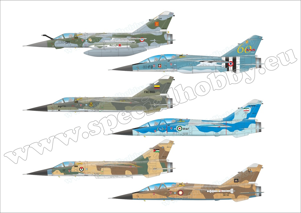 Boite combo Mirage F1 Special Hobby 72414 Sh724112