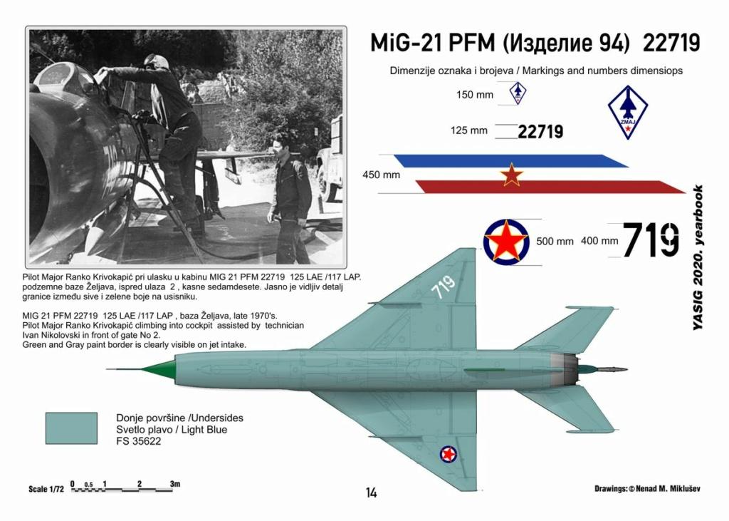 [Fujimi + Balkan Models 1/72] Mig-21 PFM yougoslave Yougos14