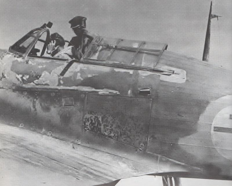 "Hurricane Mk I metal wing ""ALSACE"" [ARMA HOBBY 1/72]  Z4797_11"