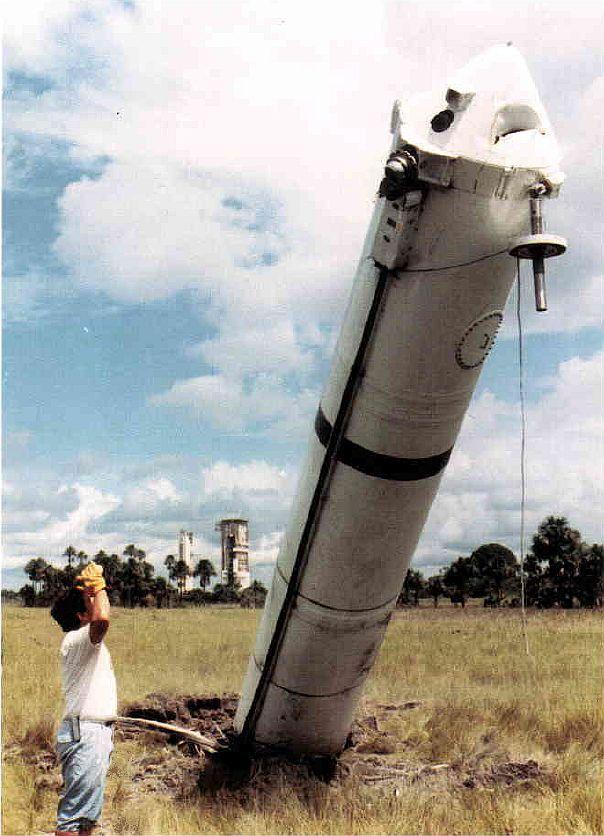 Photos des tirs d'Ariane avant la création du FCS Kourou10
