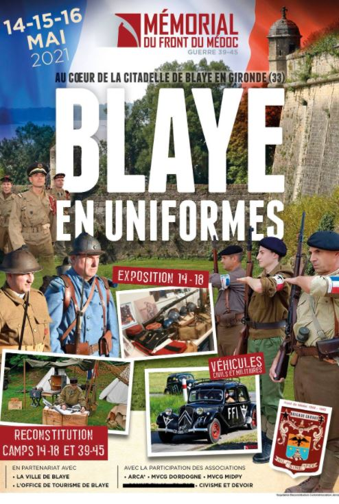 Blaye en Uniformes, mai 2021 Bl10