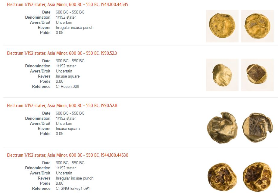 Numisfrance remonte à l'origine de la monnaie ! - Page 9 1_192t10