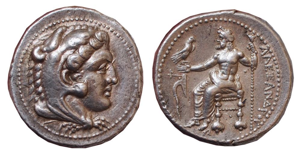 Les monnaies grecques de Brennos - Page 3 Alex10