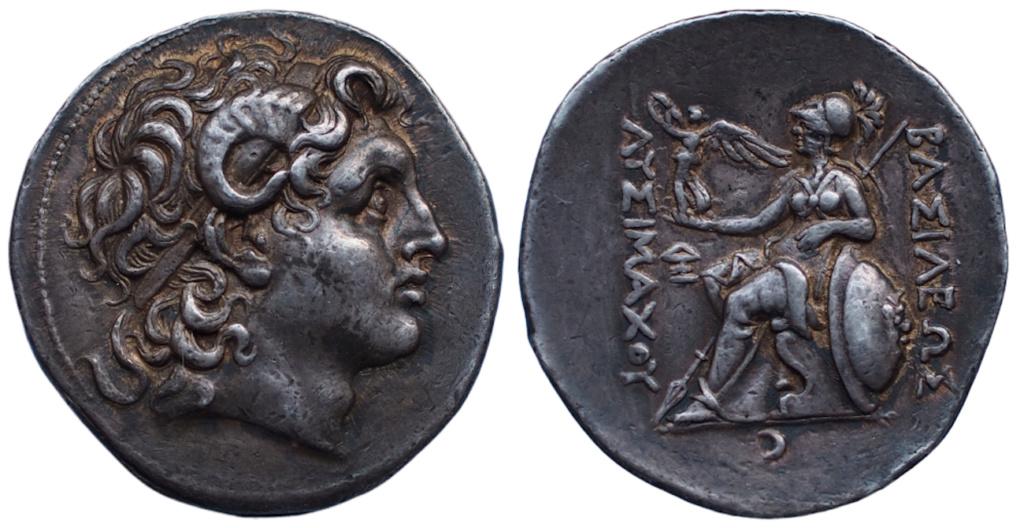 Les monnaies grecques de Brennos - Page 9 Lysima11
